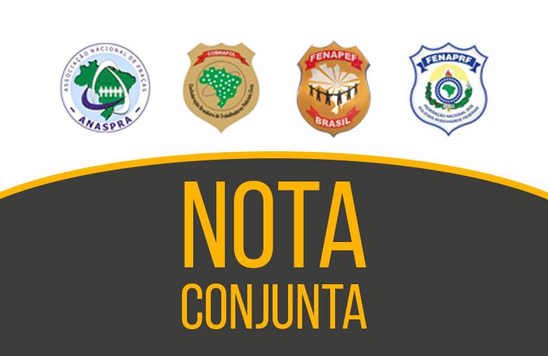 Nota conjunta em favor dos policiais do Rio Grande do Norte