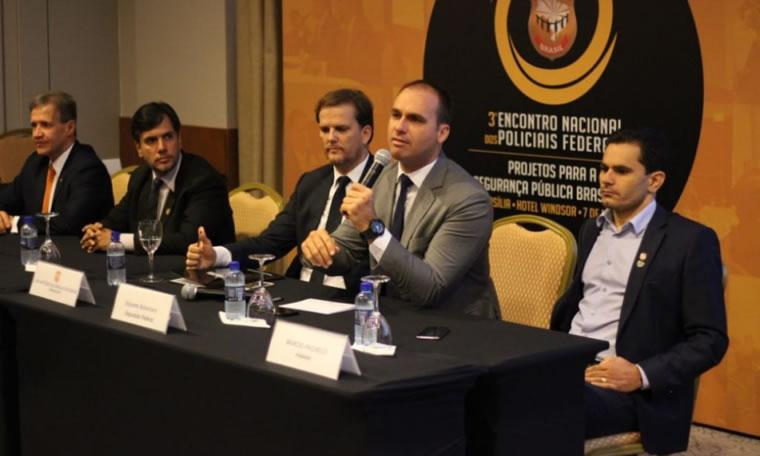 Encontro reúne policiais federais de todo o Brasil para debater Segurança Pública